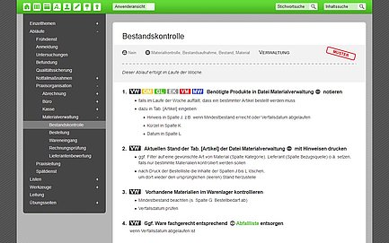 the organisation software Effizienz-Lotse is based on the cms TYPO3