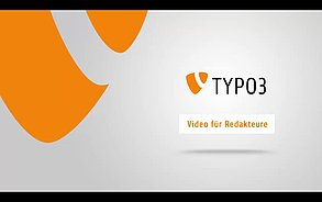 watch TYPO3 videos for editors in different versions of the cms