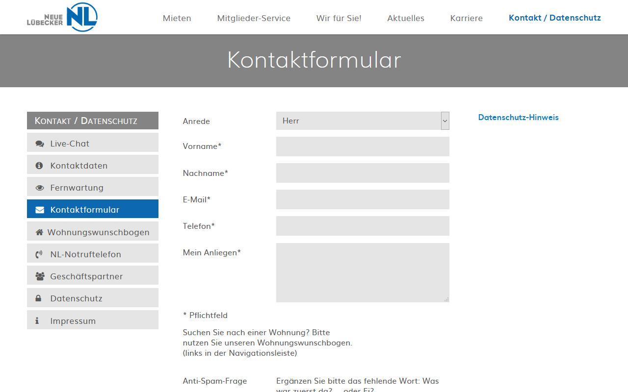 TYPO3-Websites - TYPO3-Extension powermail für Formulare